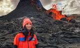 Erupcja wulkanu na Islandii. Ola z Pomorza uchwyciła to niezwykłe zjawisko (ZDJĘCIA I WIDEO)
