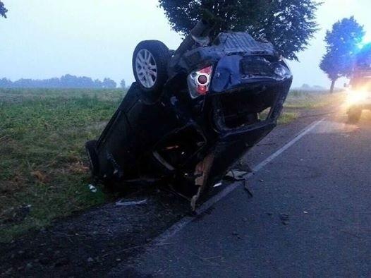 Wypadek w Wilamowicach
