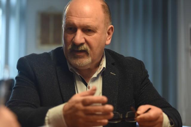 Wójt gminy Świdnica - Krzysztof Stefański opowiada o planach opieki senioralnej w gminie.