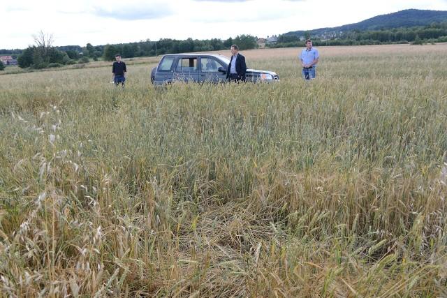Poszkodowani rolnicy z okolic miejscowości Niedźwiedź (gmina Strawczyn) spotkali się w piątek z myśliwym, by oszacować szkody i uzyskać zapewnienie o dodatkowym odstrzale dzików.