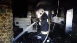 Orzeszkowo. Tragiczny pożar domu. Wybuch gazu zabił 52-latka (zdjęcia)
