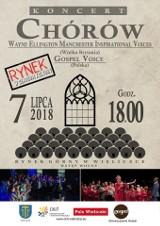 Międzynarodowy koncert gospel na rynku w Wieliczce
