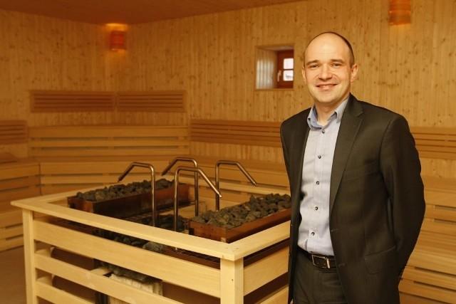 Prezes Aquaparku Krzysztof Hołub dostał pokaźną nagrodę