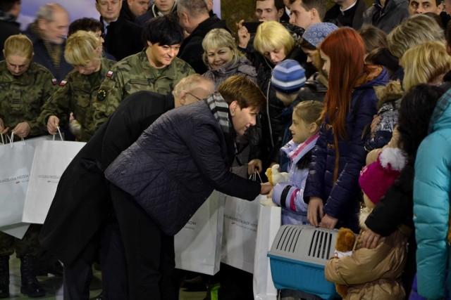 Uchodźcy z Ukrainy przylecieli do Polski