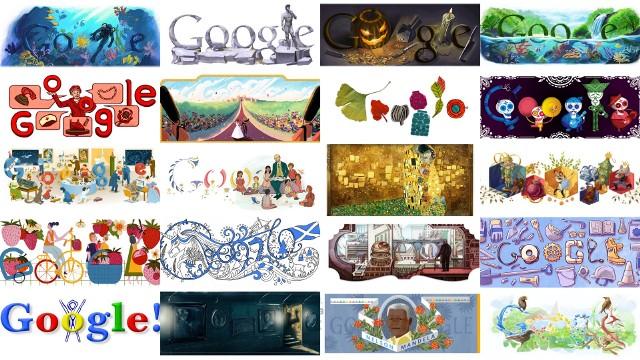 Google Doodle to małe, zazwyczaj kolorowe obrazki, które pojawiają się od czasu do czasu w miejscu wyszukiwarki Google. Zazwyczaj dotyczą świąt, ważnych rocznic lub wydarzeń, które właśnie mają miejsce. Co ciekawe, na całym świecie to samo wydarzenie może mieć różne grafiki, zależnie od kulturowych uwarunkowań. Wybraliśmy 20 najciekawszych Google Doodle z ostatnich 20 lat. Jak wam się podobają?