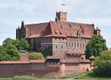 Zamek w Malborku ze Złotą Pinezką od Google'a. Miejsce najlepiej oceniane w województwie pomorskim