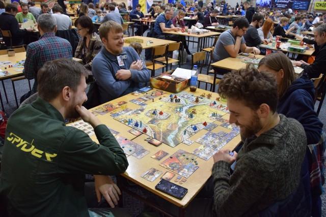 Podczas Wrocław Game Fest można zagrać w jedną z ponad 1000 gier planszowych z całego świata