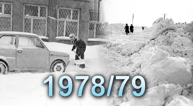 """Zima przełomu lat 1978/1979 była wyjątkowo śnieżna. Od godzin nocnych z 29 na 30 grudnia rozpoczął się napływ mroźnej masy powietrza z północy, co spowodowało, że występujące wówczas opady deszczu zaczęły stopniowo przechodzić w opady śniegu z deszczem i śniegu oraz nasilać się. Tego Sylwestra Polacy zapamiętali na zawsze...Opadom towarzyszył silny wiatr, powodujący szybkie tworzenie się zasp. Chłodny front atmosferyczny przemieszczał się stopniowo na południe, a śnieżyce i gwałtowny spadek temperatury z wartości dodatnich do kilkunastu stopni poniżej zera obejmowały kolejne części kraju.Od 1 stycznia 1979 roku cały kraj był już sparaliżowany przez zaspy i kilkunastostopniowy mróz. Wiele osób, które miały zamiar wybrać się na zabawę sylwestrową musiało pozostać w domu. Ci, którzy dotarli, wracali wyjątkowo długo... ➤➤ Więcej zdjęć na następnych stronach ➤➤ Zdjęcia pochodzą z Narodowego Archiwum Cyfrowego. Więcej na następnych stronach.Warto wiedzieć:Rekordowo wysoką pokrywę śnieżną odnotowano: w Suwałkach (84 cm, 16 lutego), Łodzi (78 cm, 2 lutego), Warszawie (70 cm, 31 stycznia), Chojnicach (60 cm, 19 lutego), Szczecinie (53 cm, 19 lutego), Kole (46 cm, 26 lutego), Kielcach (39 cm, 2 lutego) i Poznaniu (29 cm, 20 lutego).(sier, Wikipedia)<center>11 lat na krótkim filmie. Tak """"rośnie"""" cmentarz przy Wiślanej w Bydgoszczy<script class=""""XlinkEmbedScript"""" data-width=""""854"""" data-height=""""480"""" data-url=""""//get.x-link.pl/5f3c4930-125d-376d-8349-985508c6ed4d,01543367-6843-e20f-cd76-680d5b580e19,embed.html"""" type=""""application/javascript"""" src=""""//prodxnews1blob.blob.core.windows.net/cdn/js/xlink-i.js?v1""""></script></center>"""