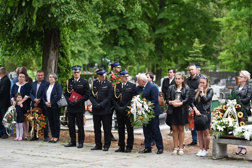 Pogrzeb st. ogn. Pawła Czerniaka, strażaka z Komendy...