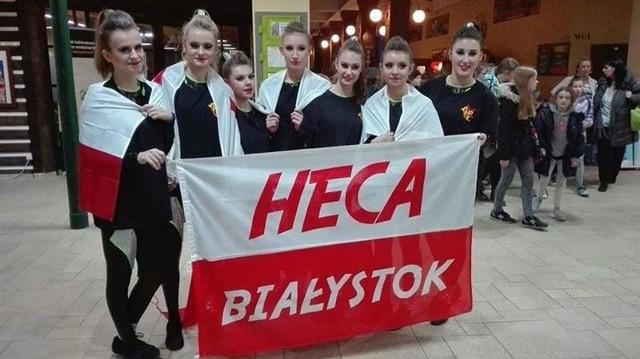 Heca juniorki na zawodach World Dance Championship WADF w Libercu w Czechach