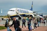 Wróciły loty Ryanair z Bydgoszczy. Po przerwie pierwszy samolot z Londynu Stansted już wylądował