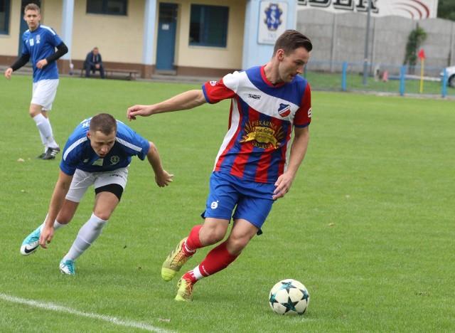 Tomasz Grzesiak strzelił dwa gole dla Kaszowianki