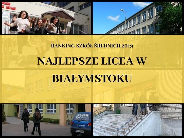 W sieci pojawił się najnowszy ranking szkół średnich przygotowany przez serwis Waszaedukacja.pl. Zobaczcie, które licea są wg niego najlepsze w stolicy województwa podlaskiego.