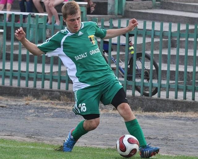Łukasz Mroziński ze Skalnika Gracze.