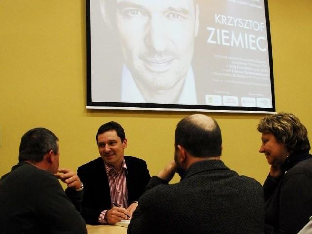 Krzysztof Ziemiec w BialymstokuKrzysztof Ziemiec w Bialymstoku