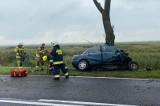Tragiczny wypadek na drodze krajowej nr 22 między Kostrzynem a Słońskiem. Zginął kierowca audi