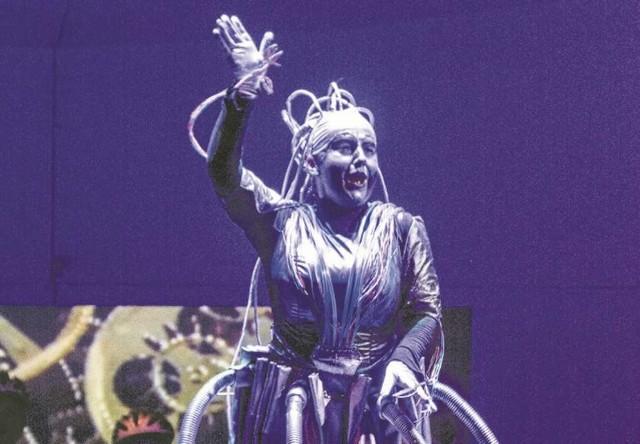 Bezkonkurencyjna Katarzyna Oleś-Blacha jako kosmiczna Olimpia