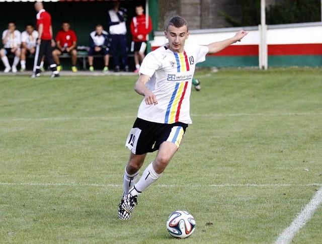 Dawid Kolodziej zdobył dwa gole dla Victorii Chrościce.
