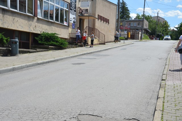 Ulica Wesoła w Miechowie