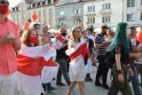 Żywie Biełaruś! Wielki marsz solidarności z Białorusią przeszedł ulicami Białegostoku (ZDJĘCIA)