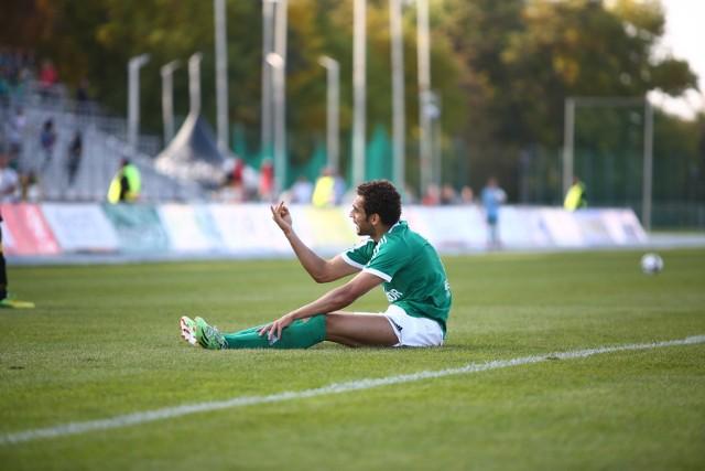 Rossi Leandro strzelec gola dla Radomiaka Radom.