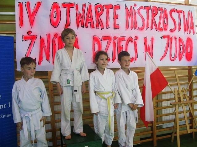 Prawie setka młodych judoków zmierzyła się w żnińskim turnieju.