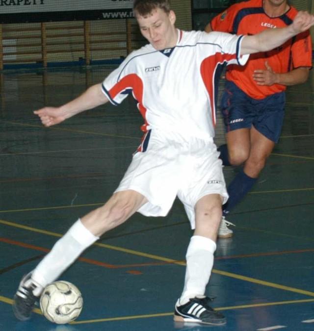 Dawid Kampa zdobył dla Mariossa dwa gole.