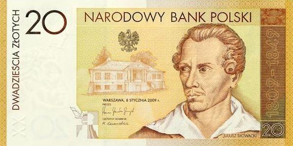 Tak wygląda front banknotu. Fot. NBP