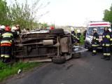 Śmiertelny wypadek w Jakubowie w gminie Kowiesy [ZDJĘCIA]