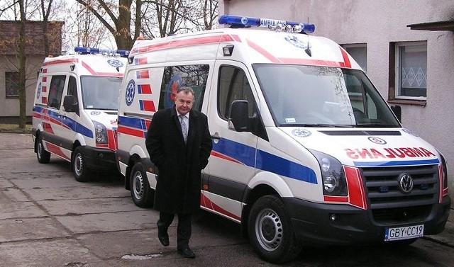 Nowe ambulanse od wojewody są już w Szpitalu Powiatu Bytowskiego.