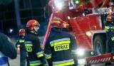 Awaria gazociągu w Łapach. Podczas remontu ulicy została uszkodzona rura. Ewakuowano przedszkole i żłobek