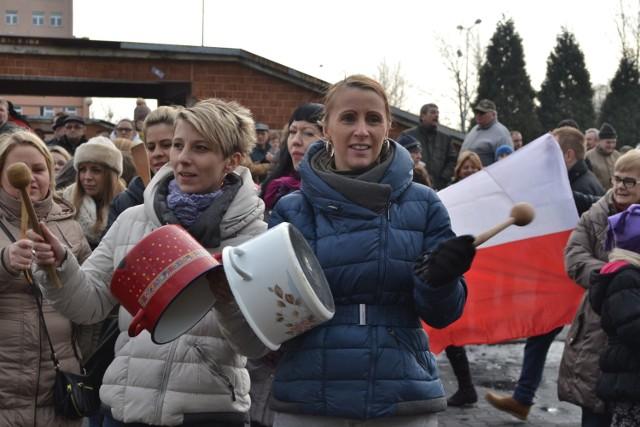 Strajk w JSW trwa. Dzisiaj wielka manifestacja w Jastrzębiu-Zdroju