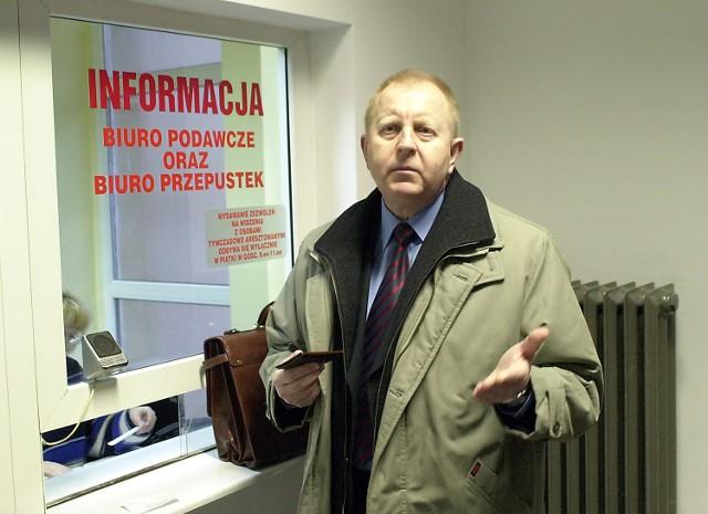 Nie mam nic do ukrycia - mówił Wojciech Długoborski, były burmistrz, obecny poseł i do niedawna szef zachodniopomorskiego SLD.