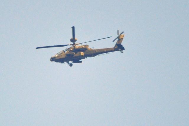 W tej powietrznej armadzie leciały szturmowe Apache oraz transportowe Black Hawki i Chinooki.