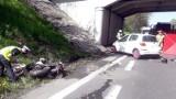 Koszmarny wypadek motocyklisty w Gliwicach. Prof. Leszek Miszczyk zginął po zderzeniu z samochodem osobowym