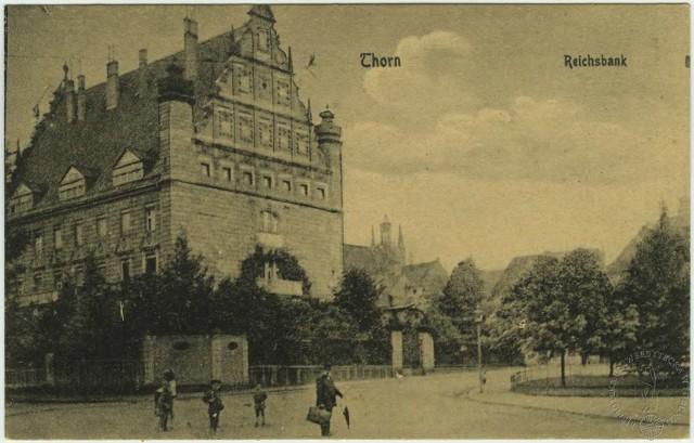 120 lat temu zapadła decyzja o budowie w Toruniu nowego gmachu Banku Rzeszy.
