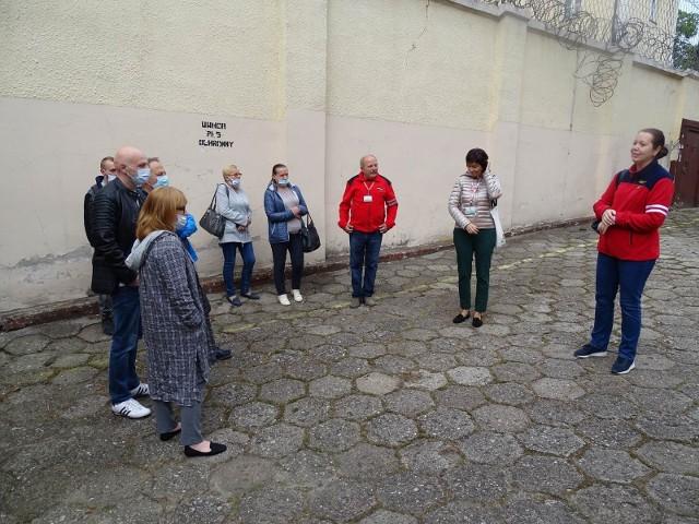 Zwiedzanie aresztu śledczego było wielką atrakcję tegorocznej Nocy Muzeów w Chełmnie
