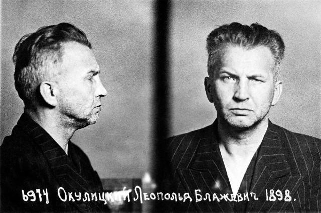 Leopold Okulicki, dowódca Armii Krajowej aresztowany przez NKWD.