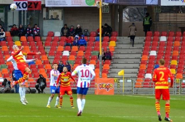 Podbeskidzie - Jagiellonia 1:0Podbeskidzie Bielsko-Biała - Jagiellonia Białystok 1:0