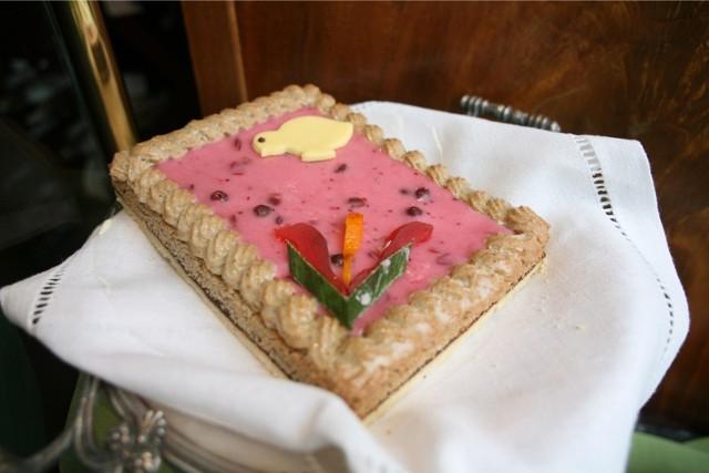 Mazurek to tradycyjne ciasto wielkanocne