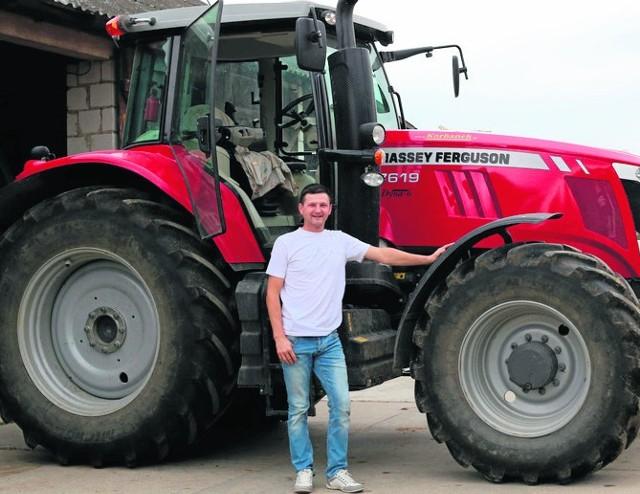 Rolnik unowocześnia gospodarstwo tak, aby pracy było mniej