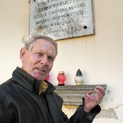 - To jak dopełnienie testamentu - mówi Wiktor Sorokin, który w tajemnicy przechowywał zabytkową tablicę do 1990 r., a teraz doprowadził do jej umieszczenia w Muzeum Wojska.