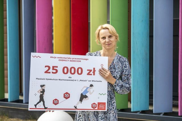 55 tysięcy złotych od ANWILU trafiło do trzech placówek opiekuńczo-wychowawczych we Włocławku