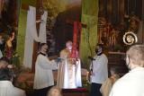 Wielkanoc. Rezurekcja w katedrze opolskiej. Przewodniczył jej biskup Andrzej Czaja