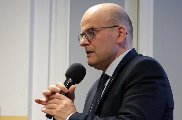 Maciej Glamowski, prezydent Grudziądza: - Przede wszystkim cieszy mnie bardzo wysoka frekwencja w wyborach