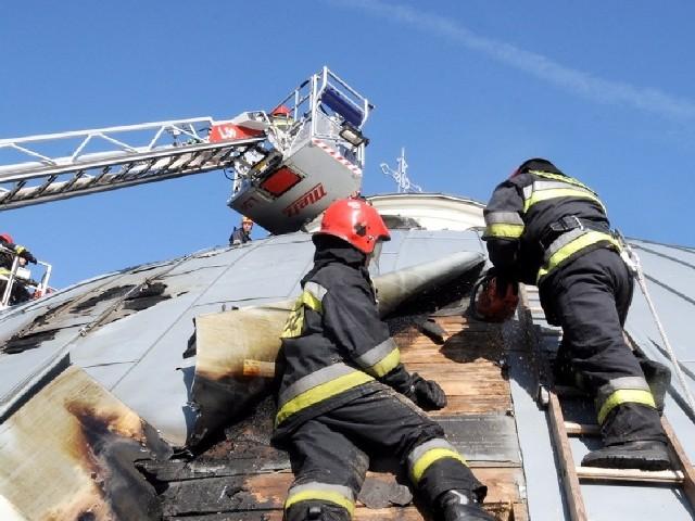 Gaszenie ognia to nie jedyne zajęcie strażaków