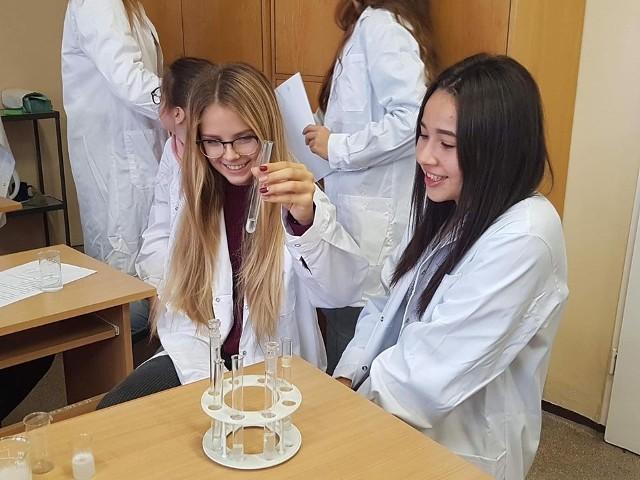 Dotknij biologii -laboratorium