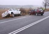 Wiśniówek. Wypadek na krajowej ósemce. Tata zderzyła się z volkswagenem (zdjęcia)