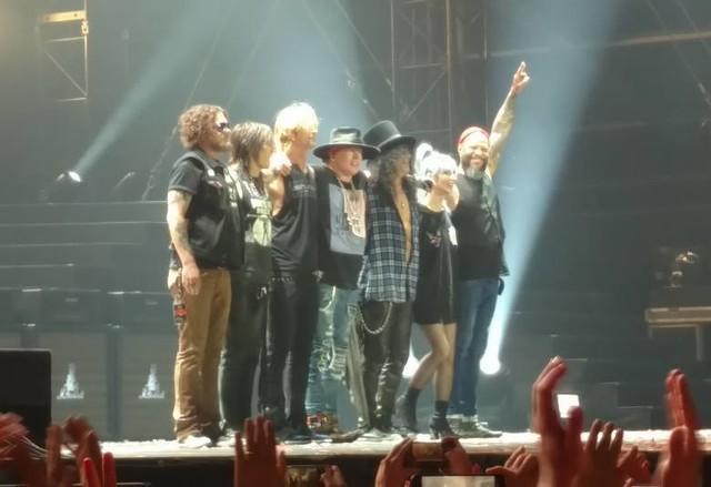 Zespół Guns N' Roses w 2018 roku wystąpił na Stadionie Śląskim w Chorzowie
