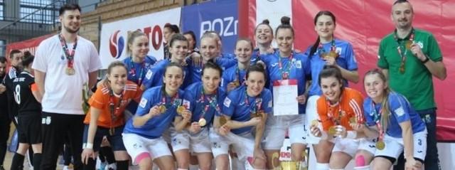 Akademicki mistrz Polski w futsalu kobiet - Uniwersytet Jagielloński Kraków